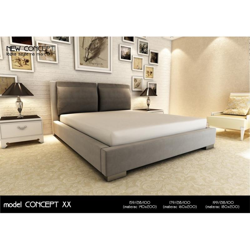 Łóżko tapicerowane New Concept model XX