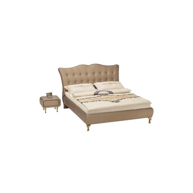 Śliczne łoże tapicerowane Princessa polskiej firmy New Elegance