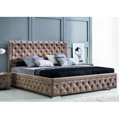 Roma stylowe łóżko tapicerowane polskiej firmy New Elegance